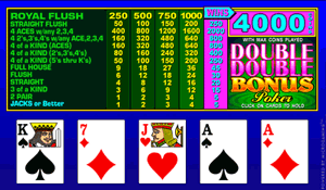 Double Double Regal Poker - Try Playing Online for Free