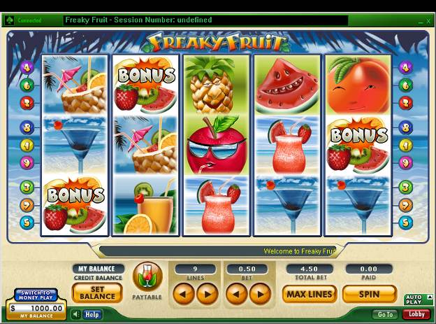 Freaky Fruit™ Slot Machine Game to Play Free in 888 Slots Developers Online Casinos