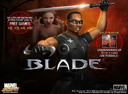blade slot machine review blade casino bonuses marvel slots