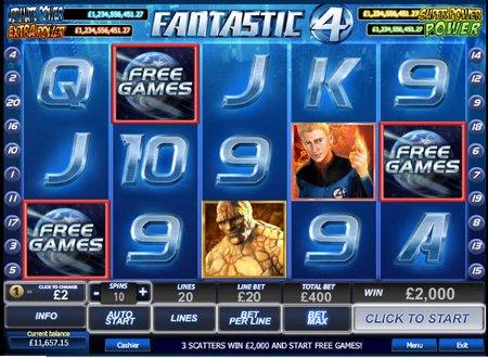 Free casino slots fantastic four mgm casino v nightclub