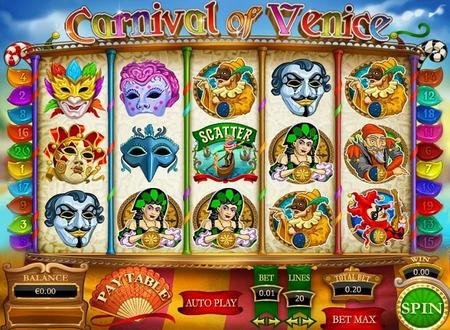 Carnival Bonus Slot Machine