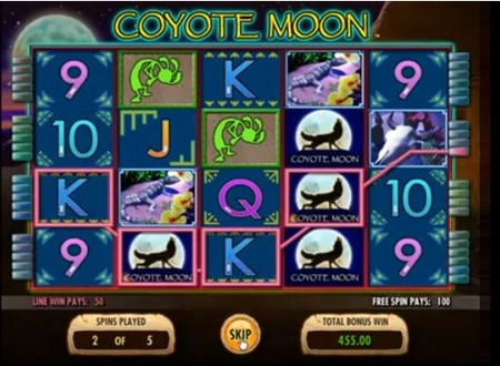 Coyote Moon Slot Machine