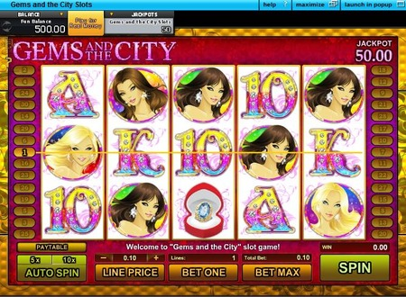Glamour Gems Slot - Review and Free Online Game