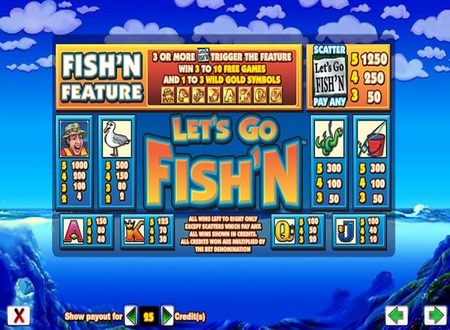let 39 s go fish 39 n slot machine review let 39 s go fish 39 n