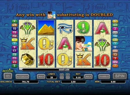 Queen of the Nile II Slot Machine