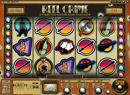 Reel Crime 1 Bank Heist™ Slot Machine Game to Play Free in Rivals Online Casinos