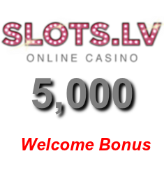 Get a generous $5,000 welcome bonus at Slots.lv Casino!